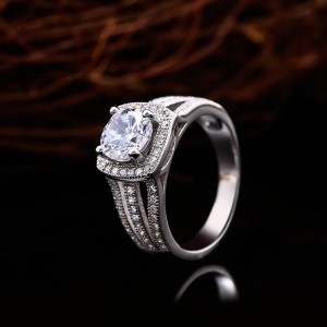 Nhẫn bạc Alva King