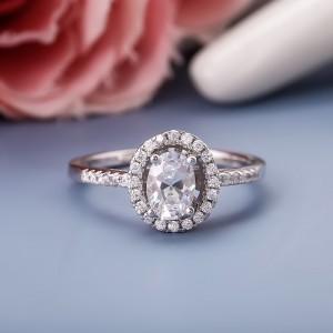 Nhẫn bạc Alyssa Love