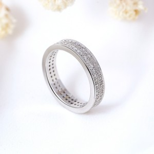 Nhẫn bạc Athena Twinkle