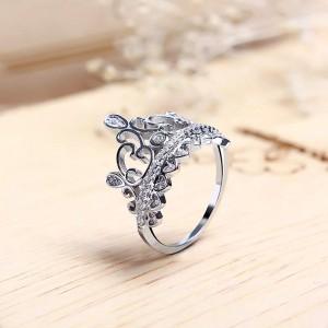 Nhẫn bạc Athena