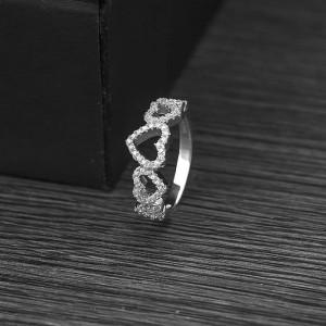 Nhẫn bạc Athenan Heart