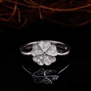 Nhẫn bạc Baby Flowers
