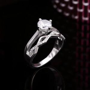 Nhẫn bạc Basil Love