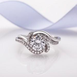 Nhẫn bạc Bell Love