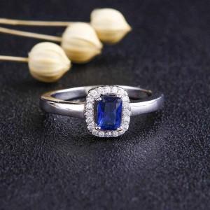 Nhẫn bạc Blue Love