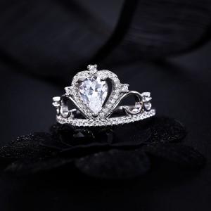 Nhẫn bạc Celia Love