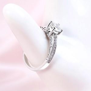 Nhẫn bạc Celina Love