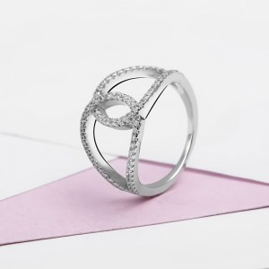 Nhẫn bạc Christina Love