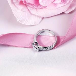 Nhẫn bạc Daissy