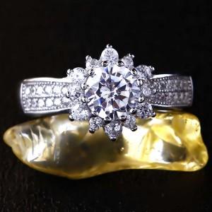 Nhẫn bạc Daisy