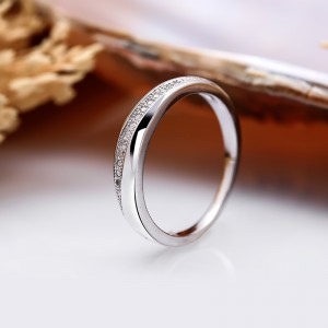 Nhẫn bạc Dandy