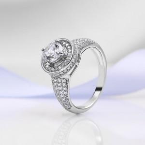 Nhẫn bạc Demeter