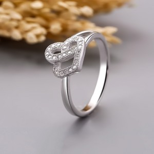 Nhẫn bạc Ella Love