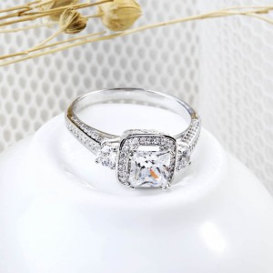 Nhẫn bạc F-Flower
