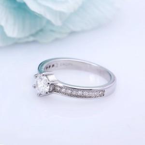 Nhẫn bạc Flawless
