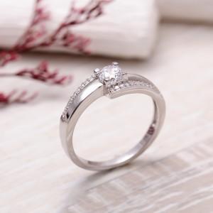 Nhẫn bạc For Love