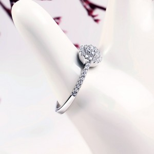 Nhẫn bạc Gladiolus