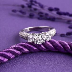 Nhẫn bạc Highlight