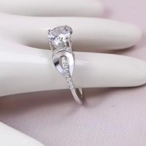 Nhẫn bạc Honeysuckle