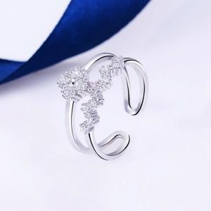 Nhẫn bạc Hyaline Love