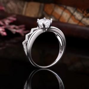 Nhẫn bạc Iris