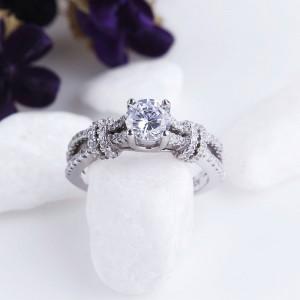 Nhẫn bạc Iriss