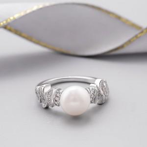 Nhẫn bạc Jasmine Love