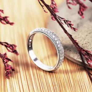 Nhẫn bạc Kuroko Love
