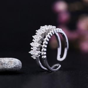Nhẫn bạc Lani Flower
