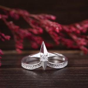 Nhẫn bạc Lani Love