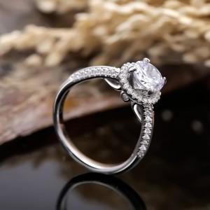 Nhẫn bạc Lena Love
