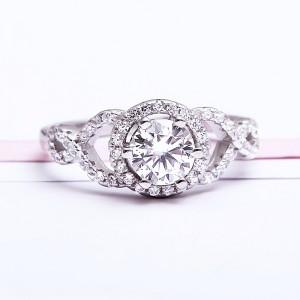 Nhẫn bạc Linnda Love