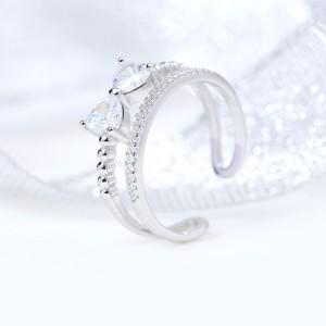 Nhẫn bạc Little Bow