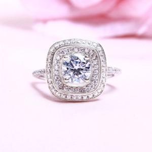 Nhẫn bạc Lotus