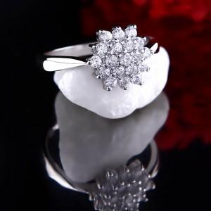 Nhẫn bạc Love Flowers