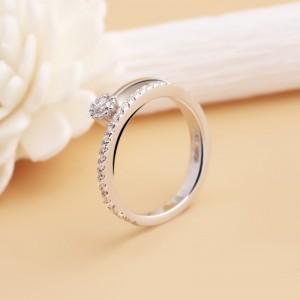 Nhẫn bạc Love Light