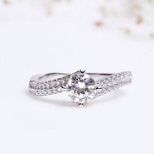 Nhẫn bạc Lullaby Love