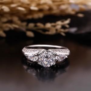 Nhẫn bạc Luxy Love