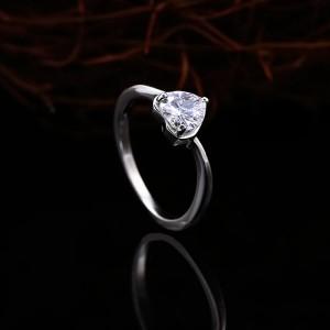 Nhẫn bạc Mi Heart