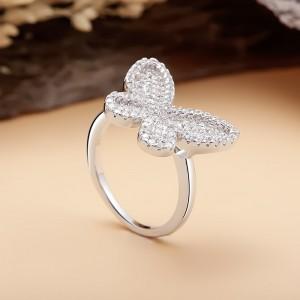 Nhẫn bạc Momo Butterfly