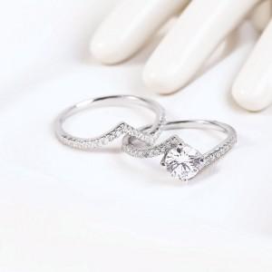 Nhẫn bạc Nina Beauty