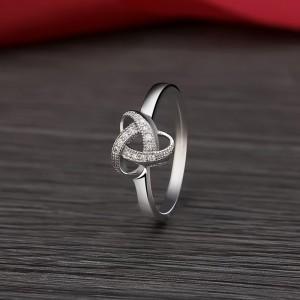 Nhẫn bạc Pansy Love
