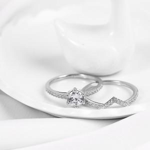 Nhẫn bạc Pure