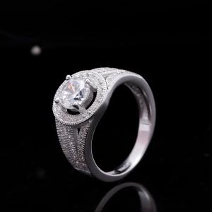 Nhẫn bạc Raymond
