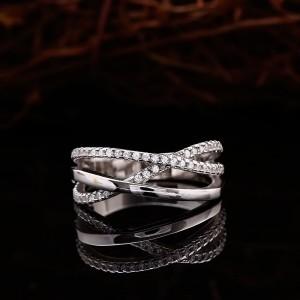 Nhẫn bạc Ripple