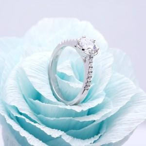 Nhẫn bạc Rosabella