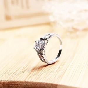 Nhẫn bạc Shine