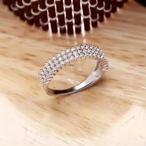 Nhẫn bạc Sona