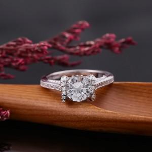 Nhẫn bạc Stella
