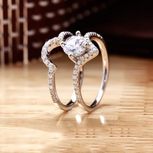 Nhẫn bạc Sumi